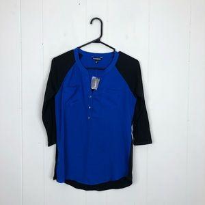 3/$20 NWT Express 3/4 Sleeve Shirt Sz XS